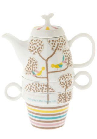 Tree Time Tea Set in Playful Partners