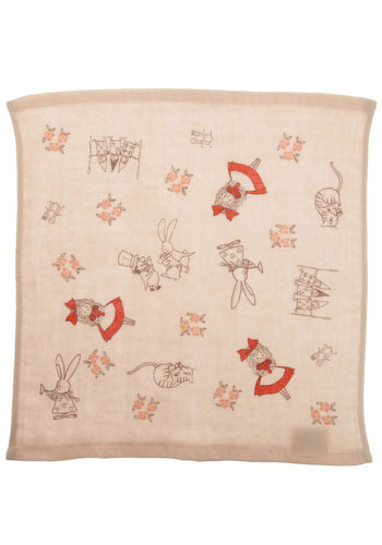 Tea Party Mini Towel